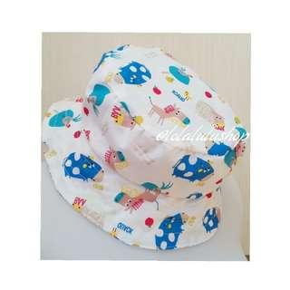 Kids Hat baby Animals Blue Motive(BN)