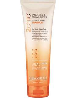 Giovanni 2Chic Tangerine & Papaya Butter Shampoo