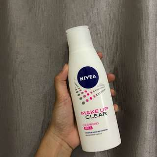 NEW Nivea Makeup Clear Cleansing Milk