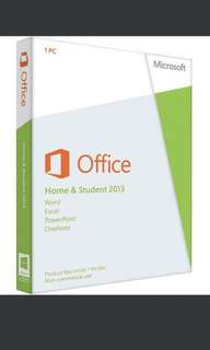 Microsoft Office Home & Student 2013