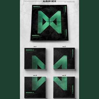 [4 ALBUMS LEFT!!!!!!] MONSTA X THE CONNECT : DEJA VU MINI ALBUM