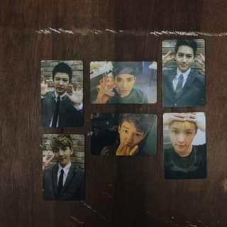 EXO Photocard XOXO Kiss Version [FANMADE]