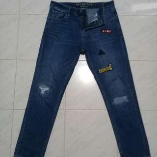 INDIGO selected ripped Jeans