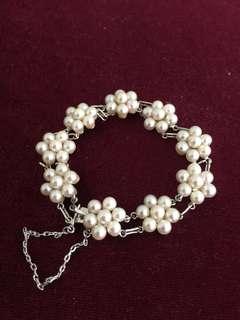 日本中古Akoya珍珠手鏈