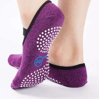 Yoga Socks Quick-Dry Anti-slip Damping Bandage Pilates Ballet Socks Good Grip Men & Women