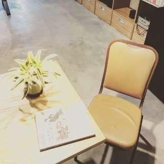 古典線條單椅
