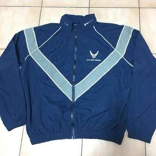 L號)古著美軍公發空軍訓練運動外套夾克vintage air force IPFU