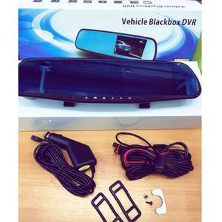 [**Promotion**] CAR MIRROR TWIN CAMERA