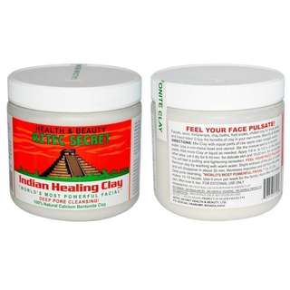 CHEAPEST !! Aztec Indian Healing Clay sample sized