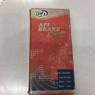 PROTON TIARA SECOND EDITION DISC BRAKE PADS FRONT