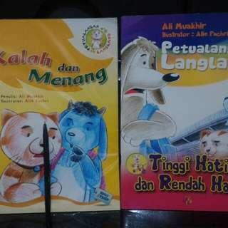 Paket buku anak seri petualangan langlang