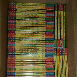 1 to 63 Geronimo books, except no 45