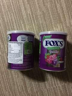 Fox果汁糖180g/罐