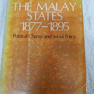 #0329 - The Malay States 1877~1895
