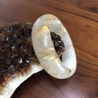 《個人珍藏》保證天然鈦金 💰招財 避邪 粉美的一隻手環