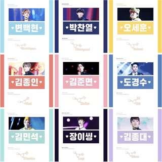 EXO Rainbow Sharbet Slogan