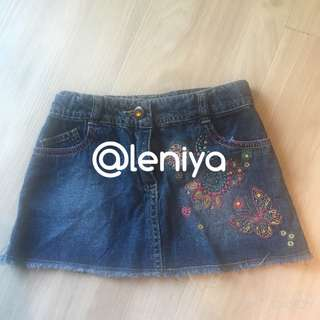 Mothercare Rok jeans Utk anak 4-5 thn