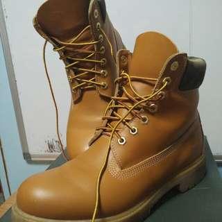 timberland光面皮款鞋👏