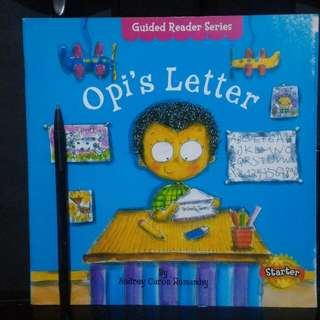 Buku anak oppies letter guided reader series