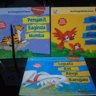 Paket buku anak pengetahuan dasar
