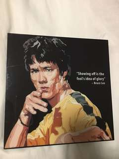 Bruce Lee Pop Art