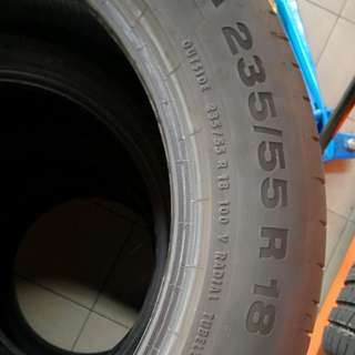 Used Continental CSC5 Tyres