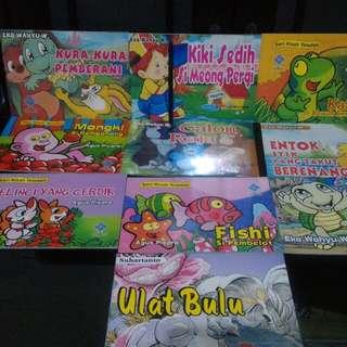 Paket buku anak fabel seri kisah teladan