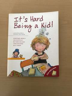 Barron's Books - It's Hard Being a Kid