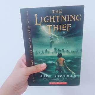 The Lightning Thief by Rick Riordan (Percy Jackson & The Olympians)