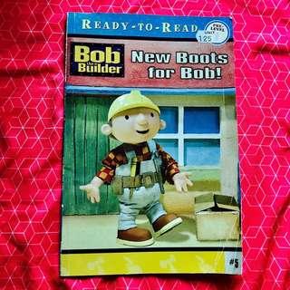 幼兒英文故事書:Bob the builder :new boots for Bob