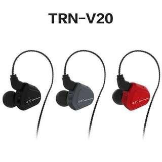💥新品TRN V20 圈鐵耳機