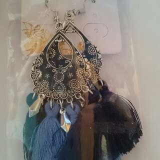 Elegant Tassel Earrings A