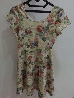 RE-PRICE! Cavalier Floral Dress