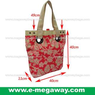 #Red #Hawaii #Flower #Full #Print #Tote #Shoulder #Bags #Beach #Bag #Cotton #Recycle #Eco-friendly #Leisure #Young #Fashion #Designer #Shopping #Gym #Exercise #Yoga #Multi-Use @MegawayBags #Megaway #MegawayBags #CC-1588-81135