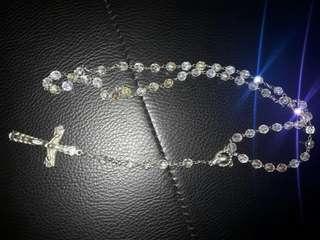 Kalung rosario kalung salib kalung kristal panjang