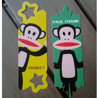 Paul Frank Bookmarks
