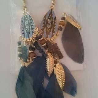Elegant Tassel Earrings C