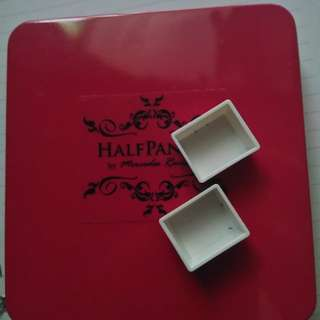 EMPTY TIN CASE AND 24 MAGNETIC HALF PANS (Original by HALF PAN PH)