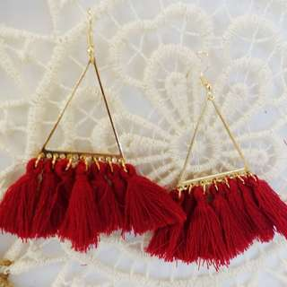 Tassel Dangling Earrings