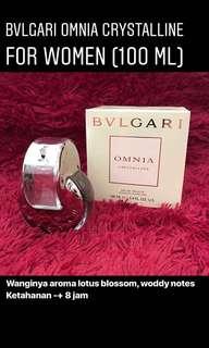 Bvlgari Omnia Cristalline For Women 100ml