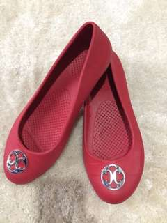 8US Crocs Slip On Red