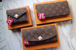LV Wallet premium gred full leather