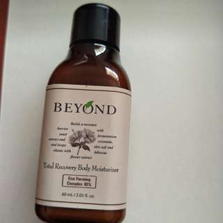Beyond total recovery body moisture