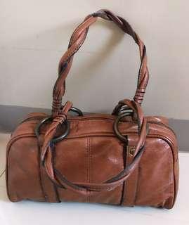 Mango Brown Hand Bag