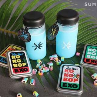 Official EXO KOKOBOP Candy Box + Bottle
