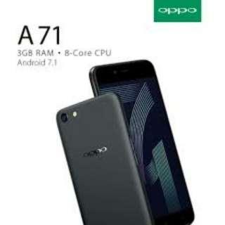 Cicilan tanpa kartu kredit Oppo A71 Ram 3GB