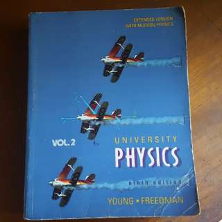 University Physics by Young, Freedman