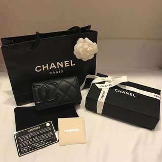 Chanel Cambon 2016 Card Holder