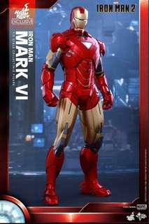 上海迪士尼版 1/6 HOTTOYS MMS339 Iron Man 2 鐵甲奇俠2 Mark 6 Mark VI