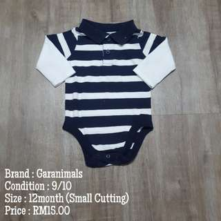 Romper Baby (12m Small cutting)